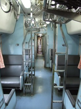 Second class train from Songai Golok to bangkok